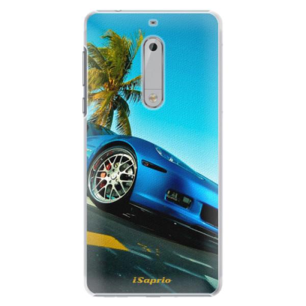Plastové pouzdro iSaprio - Car 10 - Nokia 5