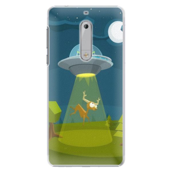 Plastové pouzdro iSaprio - Alien 01 - Nokia 5