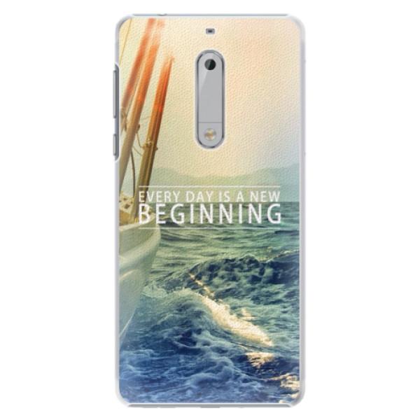 Plastové pouzdro iSaprio - Beginning - Nokia 5