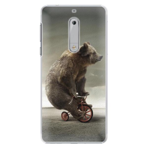 Plastové pouzdro iSaprio - Bear 01 - Nokia 5