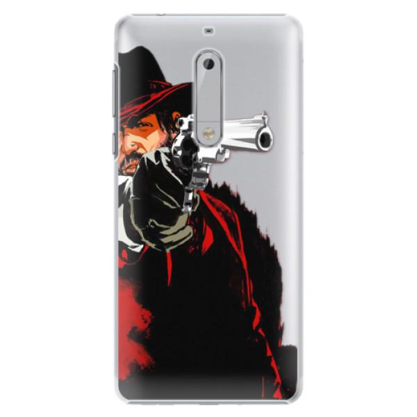 Plastové pouzdro iSaprio - Red Sheriff - Nokia 5