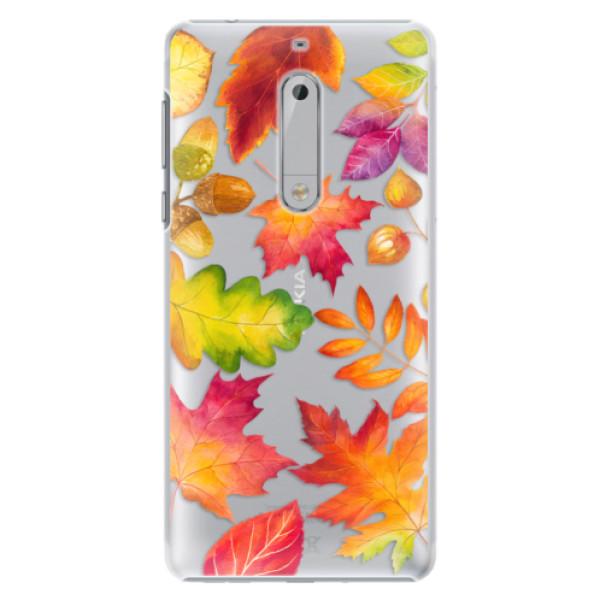 Plastové pouzdro iSaprio - Autumn Leaves 01 - Nokia 5