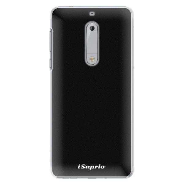 Plastové pouzdro iSaprio - 4Pure - černý - Nokia 5