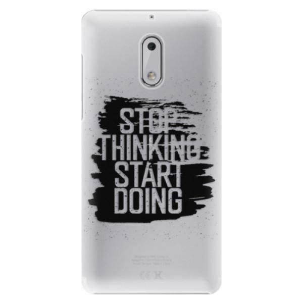 Plastové pouzdro iSaprio - Start Doing - black - Nokia 6