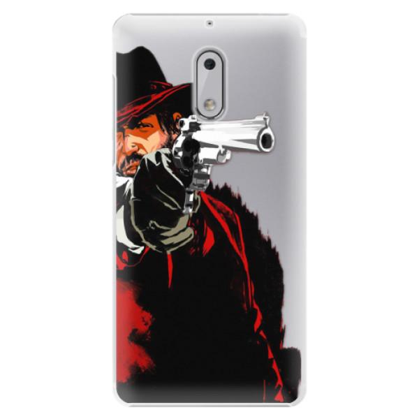 Plastové pouzdro iSaprio - Red Sheriff - Nokia 6