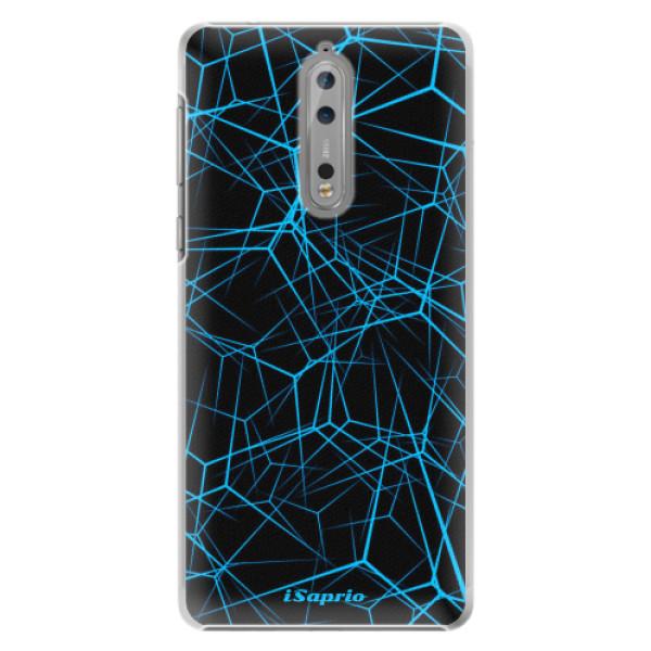 Plastové pouzdro iSaprio - Abstract Outlines 12 - Nokia 8