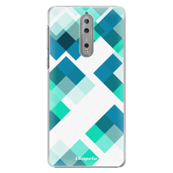 Plastové pouzdro iSaprio - Abstract Squares 11 - Nokia 8