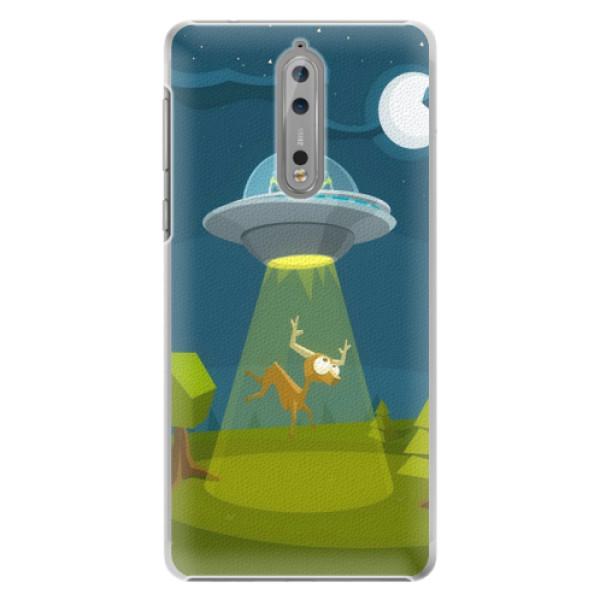 Plastové pouzdro iSaprio - Alien 01 - Nokia 8