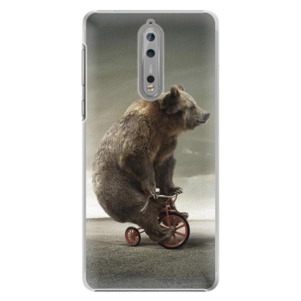 Plastové pouzdro iSaprio - Bear 01 - Nokia 8