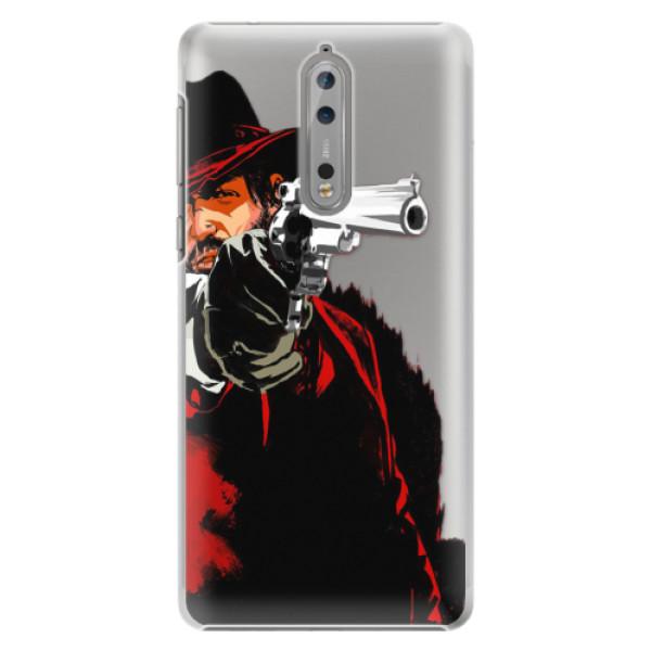 Plastové pouzdro iSaprio - Red Sheriff - Nokia 8