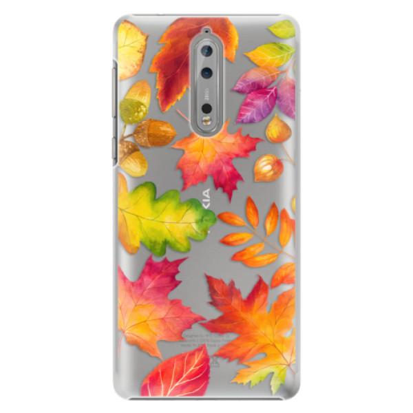 Plastové pouzdro iSaprio - Autumn Leaves 01 - Nokia 8