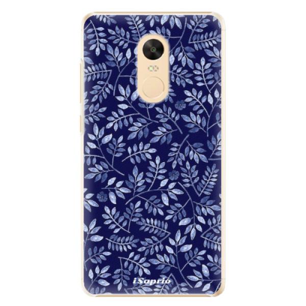 Plastové pouzdro iSaprio - Blue Leaves 05 - Xiaomi Redmi Note 4X