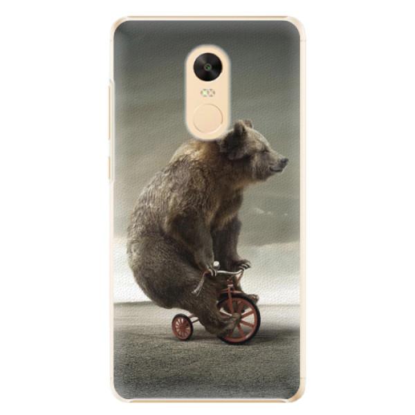 Plastové pouzdro iSaprio - Bear 01 - Xiaomi Redmi Note 4X