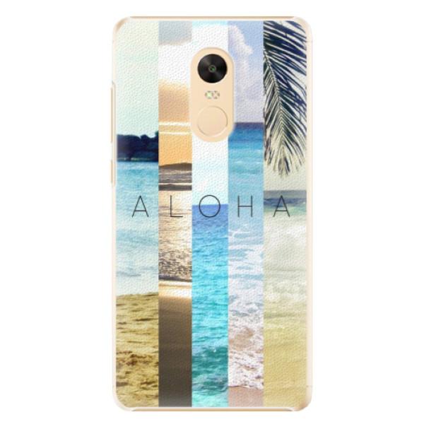 Plastové pouzdro iSaprio - Aloha 02 - Xiaomi Redmi Note 4X