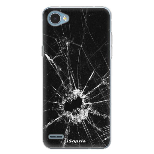 Plastové pouzdro iSaprio - Broken Glass 10 - LG Q6
