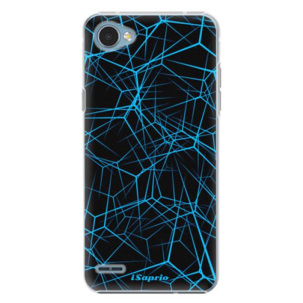 Plastové pouzdro iSaprio - Abstract Outlines 12 - LG Q6