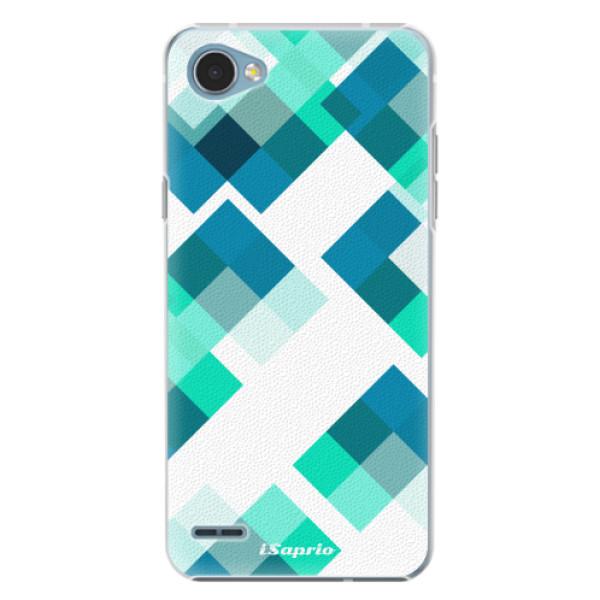 Plastové pouzdro iSaprio - Abstract Squares 11 - LG Q6