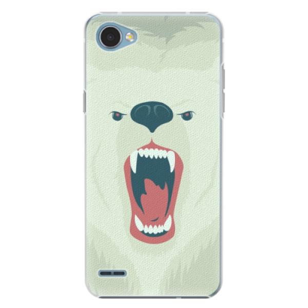 Plastové pouzdro iSaprio - Angry Bear - LG Q6