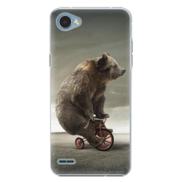 Plastové pouzdro iSaprio - Bear 01 - LG Q6