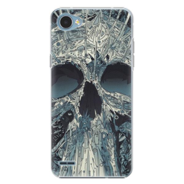 Plastové pouzdro iSaprio - Abstract Skull - LG Q6