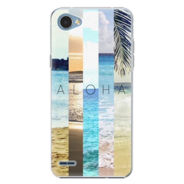 Plastové pouzdro iSaprio - Aloha 02 - LG Q6