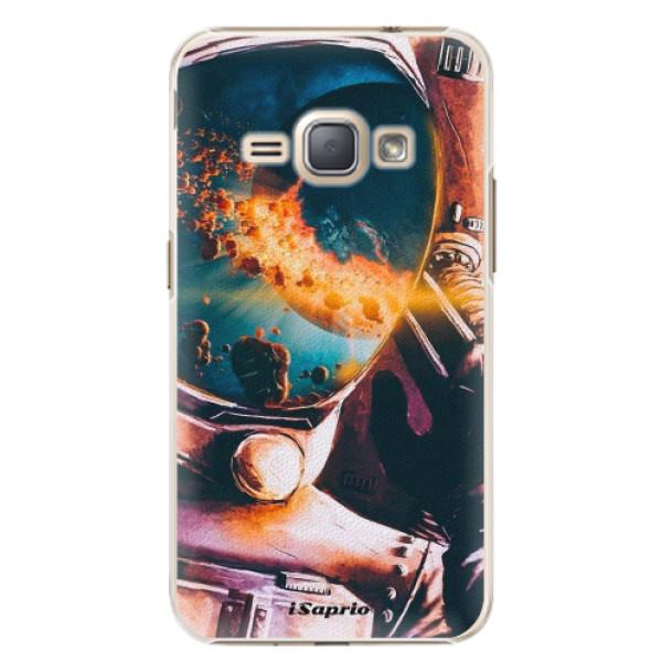 Plastové pouzdro iSaprio - Astronaut 01 - Samsung Galaxy J1 2016