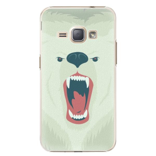 Plastové pouzdro iSaprio - Angry Bear - Samsung Galaxy J1 2016