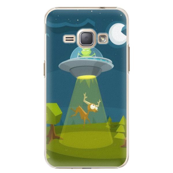 Plastové pouzdro iSaprio - Alien 01 - Samsung Galaxy J1 2016