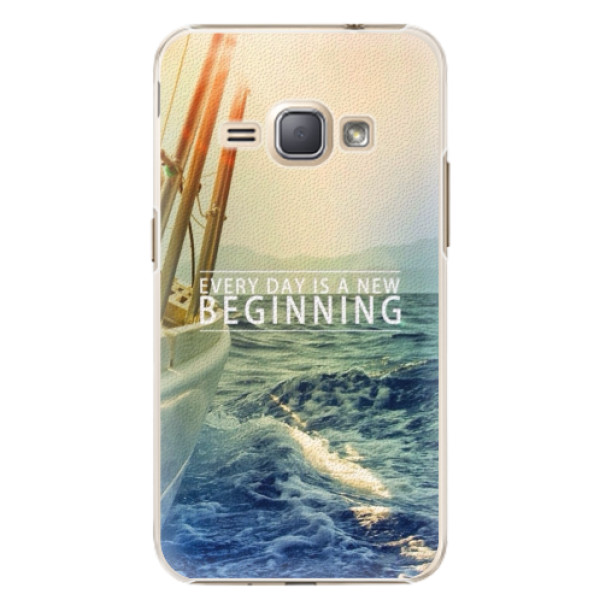 Plastové pouzdro iSaprio - Beginning - Samsung Galaxy J1 2016