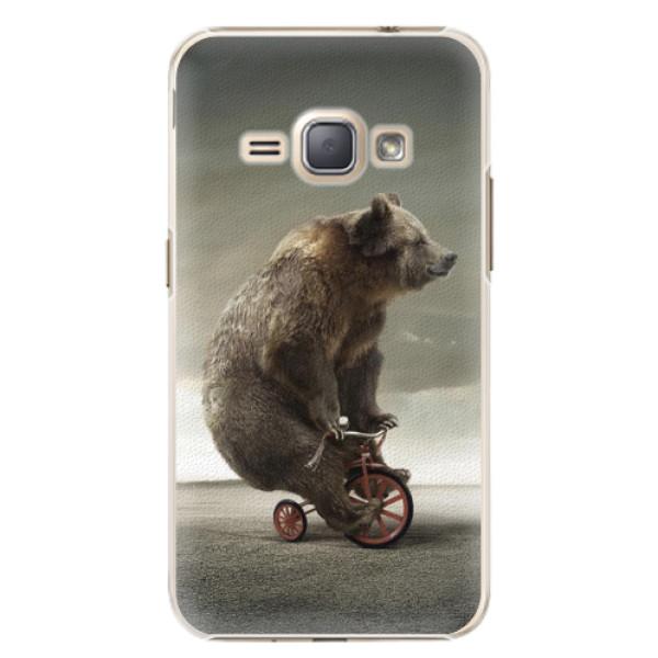 Plastové pouzdro iSaprio - Bear 01 - Samsung Galaxy J1 2016