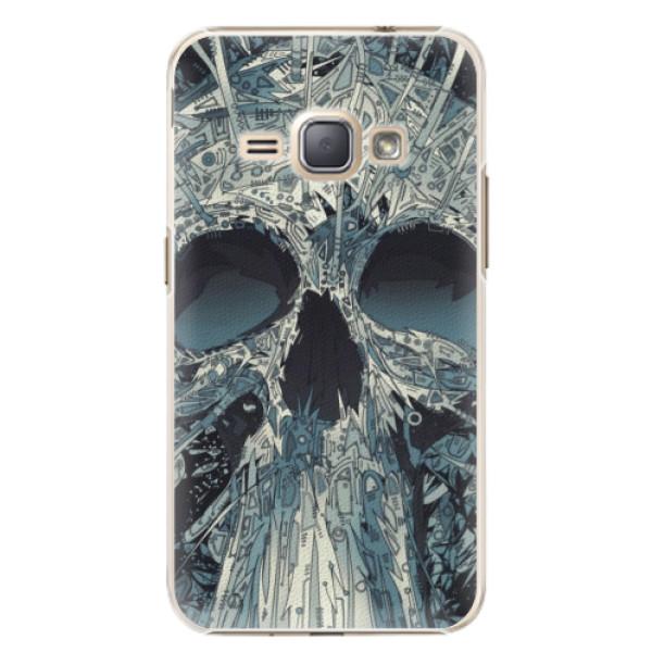 Plastové pouzdro iSaprio - Abstract Skull - Samsung Galaxy J1 2016