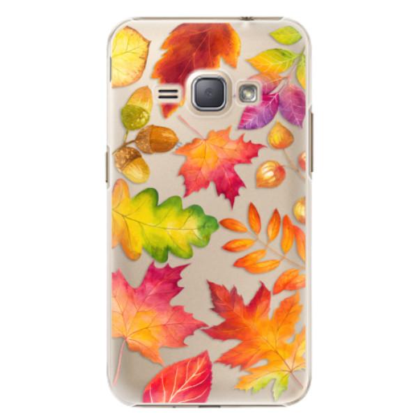 Plastové pouzdro iSaprio - Autumn Leaves 01 - Samsung Galaxy J1 2016