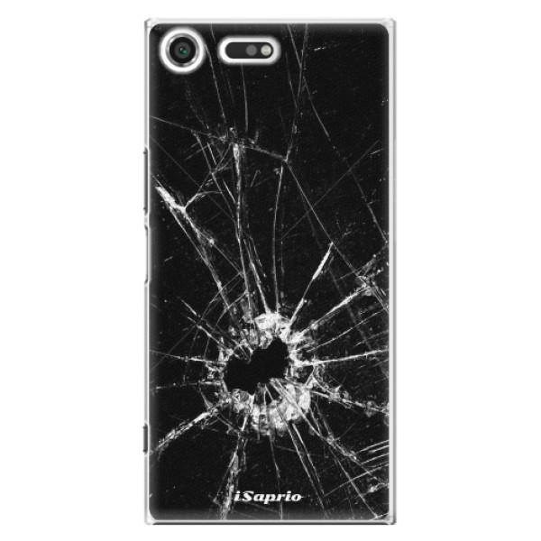 Plastové pouzdro iSaprio - Broken Glass 10 - Sony Xperia XZ Premium