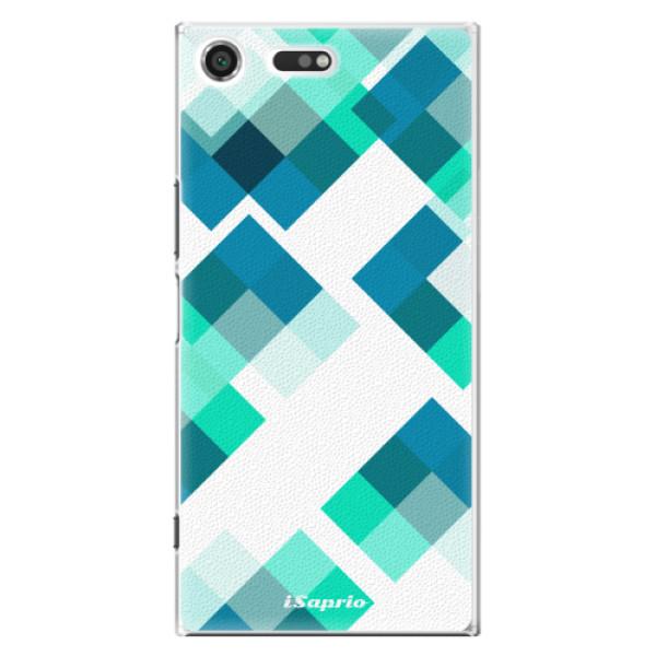 Plastové pouzdro iSaprio - Abstract Squares 11 - Sony Xperia XZ Premium
