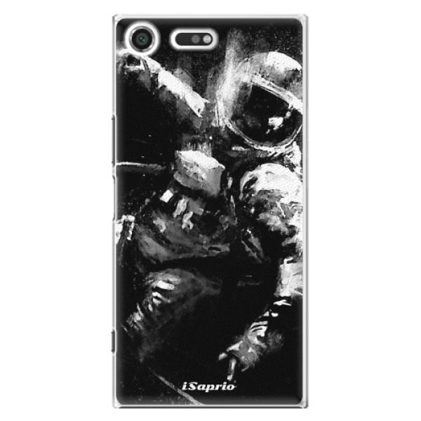 Plastové pouzdro iSaprio - Astronaut 02 - Sony Xperia XZ Premium