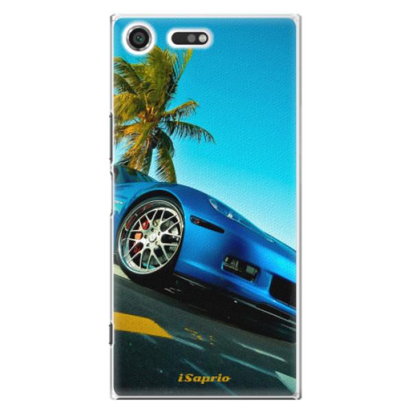Plastové pouzdro iSaprio - Car 10 - Sony Xperia XZ Premium