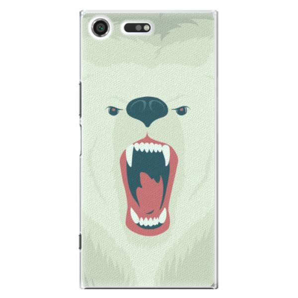 Plastové pouzdro iSaprio - Angry Bear - Sony Xperia XZ Premium