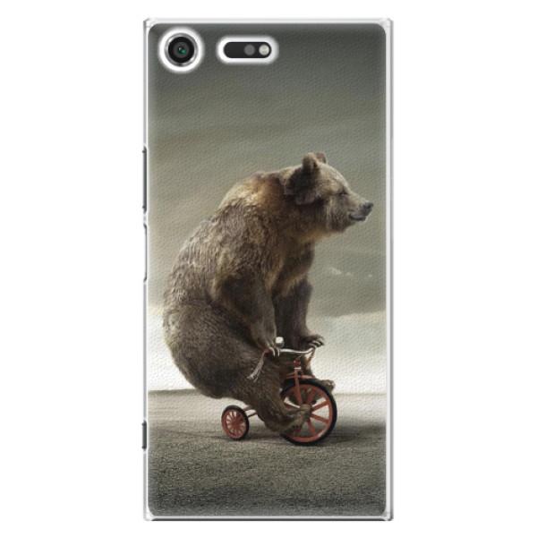 Plastové pouzdro iSaprio - Bear 01 - Sony Xperia XZ Premium