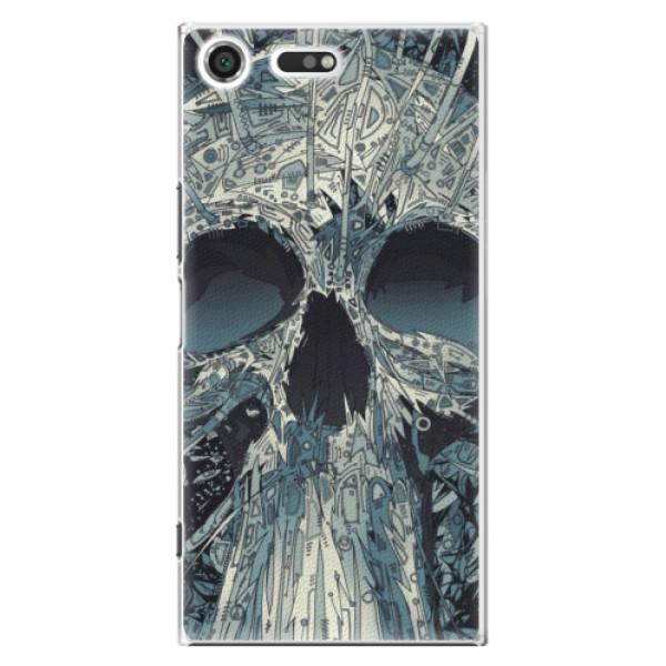 Plastové pouzdro iSaprio - Abstract Skull - Sony Xperia XZ Premium
