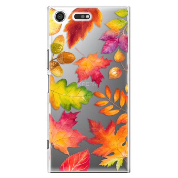 Plastové pouzdro iSaprio - Autumn Leaves 01 - Sony Xperia XZ Premium