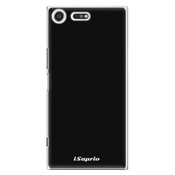 Plastové pouzdro iSaprio - 4Pure - černý - Sony Xperia XZ Premium