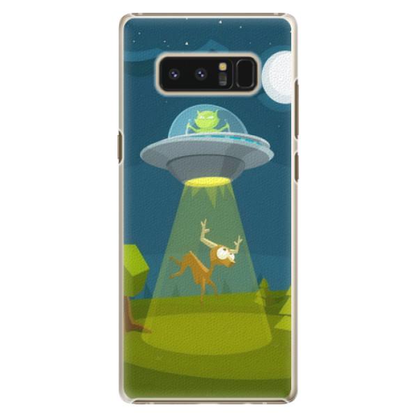 Plastové pouzdro iSaprio - Alien 01 - Samsung Galaxy Note 8