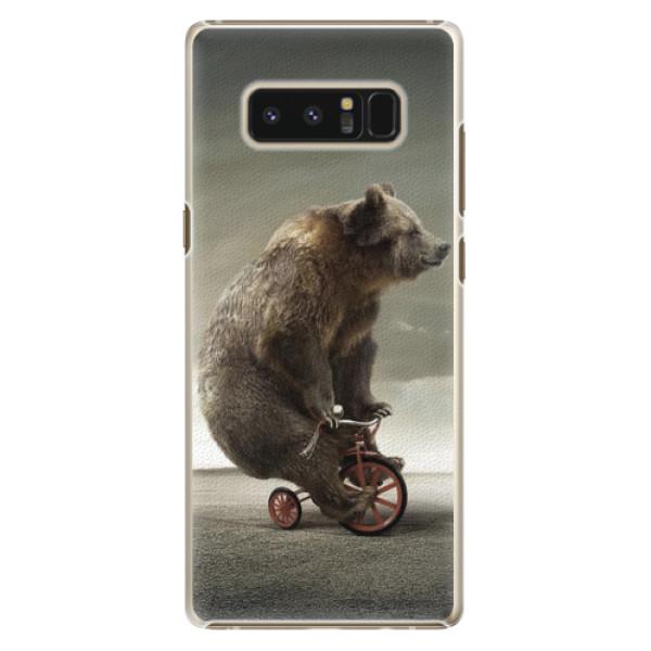 Plastové pouzdro iSaprio - Bear 01 - Samsung Galaxy Note 8