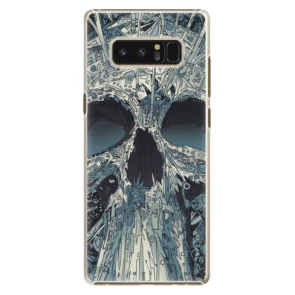 Plastové pouzdro iSaprio - Abstract Skull - Samsung Galaxy Note 8