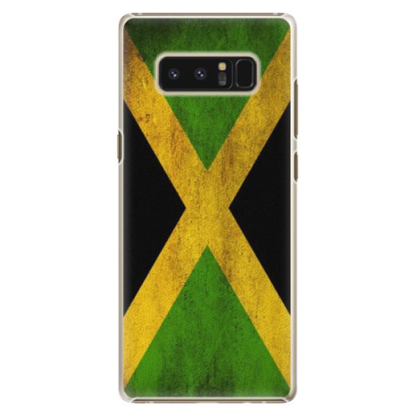 Plastové pouzdro iSaprio - Flag of Jamaica - Samsung Galaxy Note 8