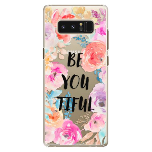 Plastové pouzdro iSaprio - BeYouTiful - Samsung Galaxy Note 8