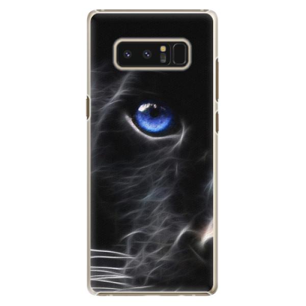 Plastové pouzdro iSaprio - Black Puma - Samsung Galaxy Note 8