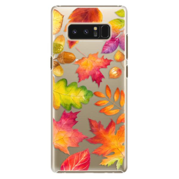 Plastové pouzdro iSaprio - Autumn Leaves 01 - Samsung Galaxy Note 8
