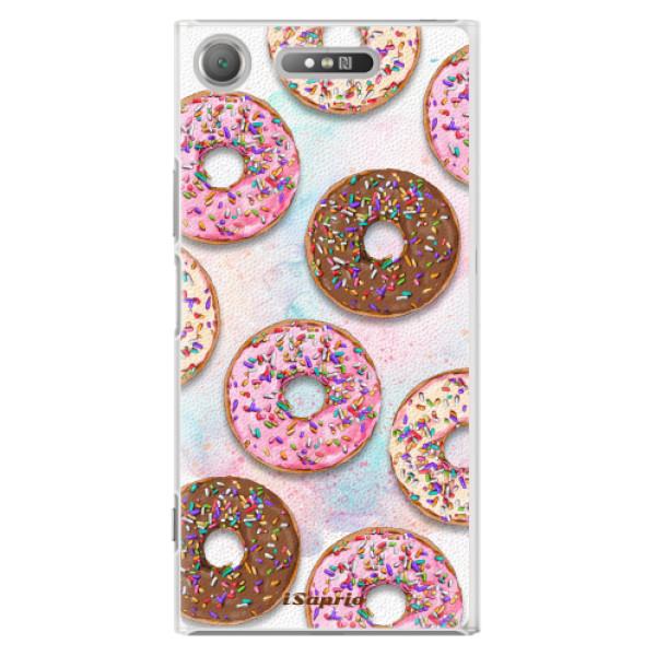 Plastové pouzdro iSaprio - Donuts 11 - Sony Xperia XZ1