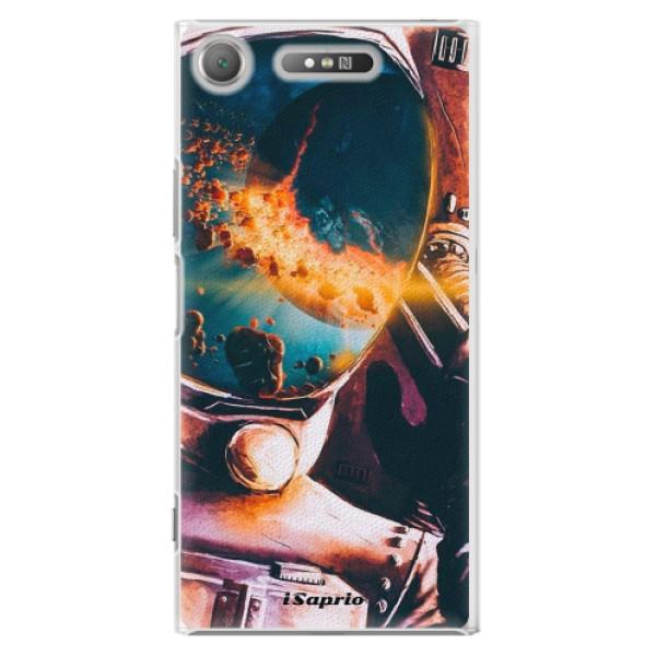 Plastové pouzdro iSaprio - Astronaut 01 - Sony Xperia XZ1